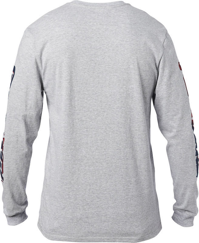 Fox Racing BNKZ SE Long Sleeve Shirt Light Heather Grey X-Large