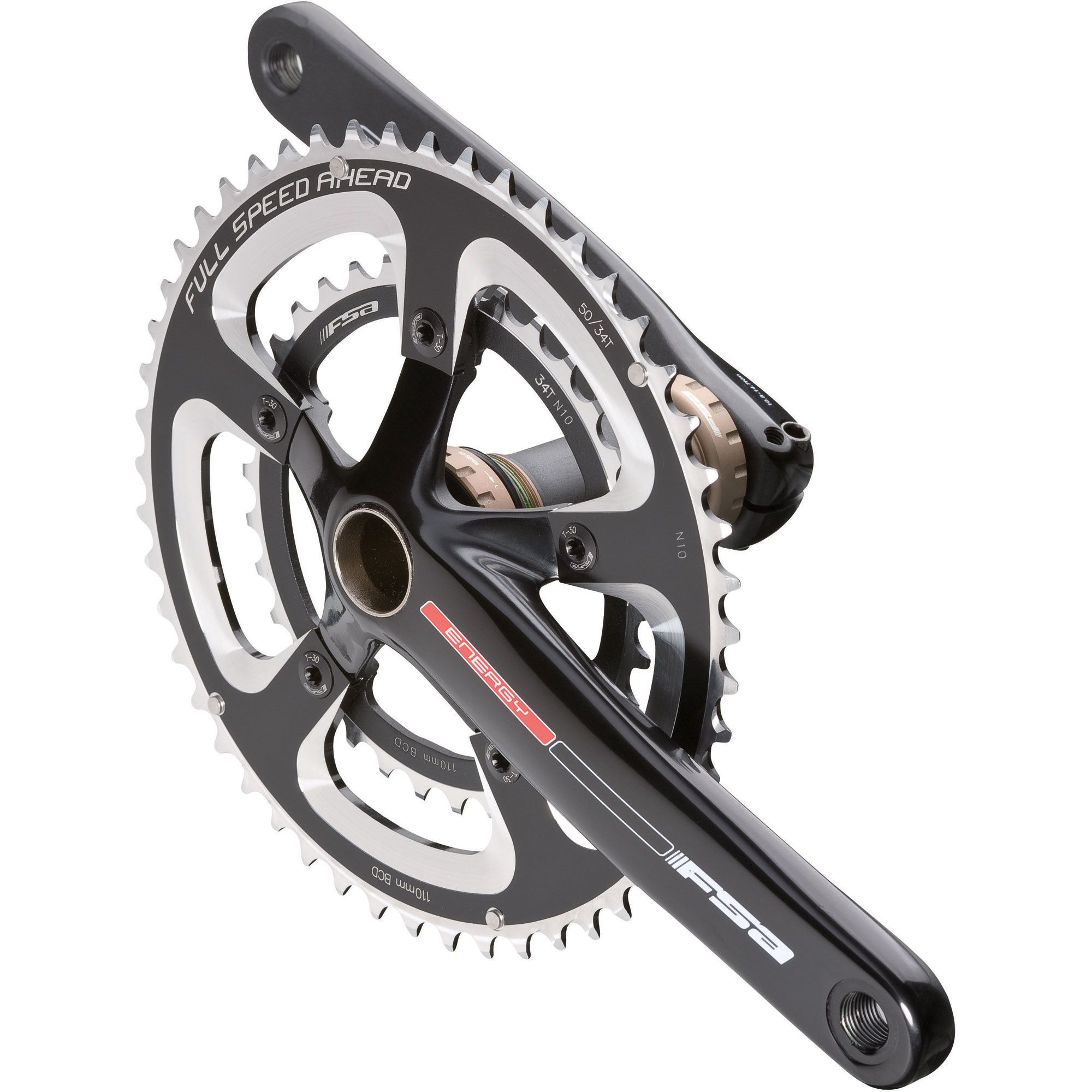 Fsa Energy Compact Crankset Blue Ridge Cyclery