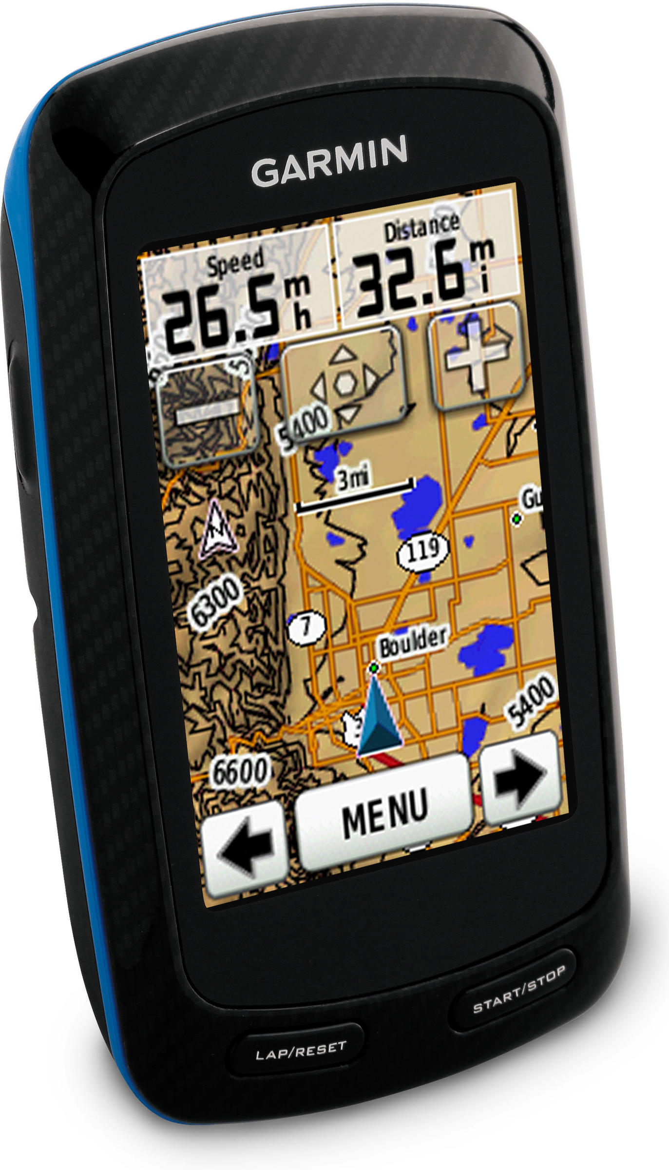 Garmin Edge 800 w/Heart Rate Monitor, Cadence And Street