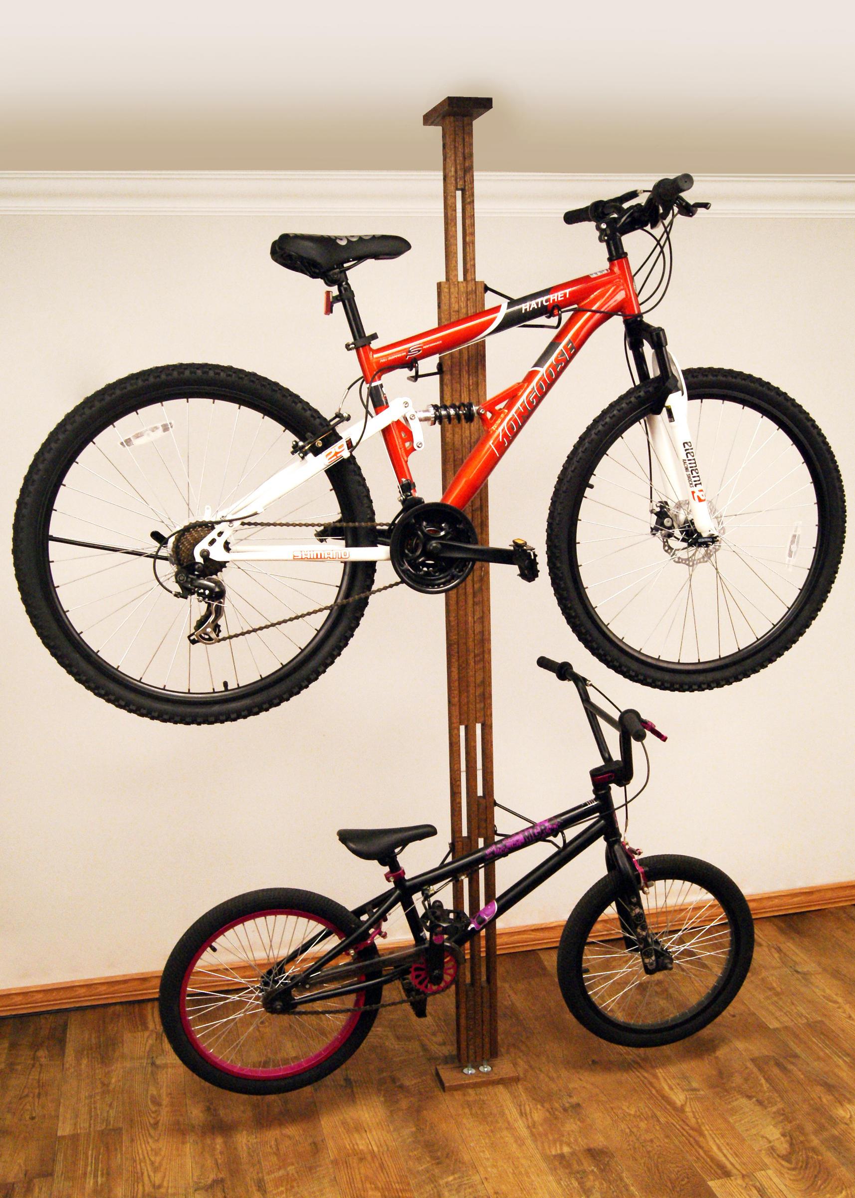 Ceiling 2 Bike Storage Rack