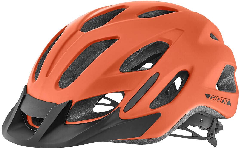 Giant Compel Bike Helmet Matte White