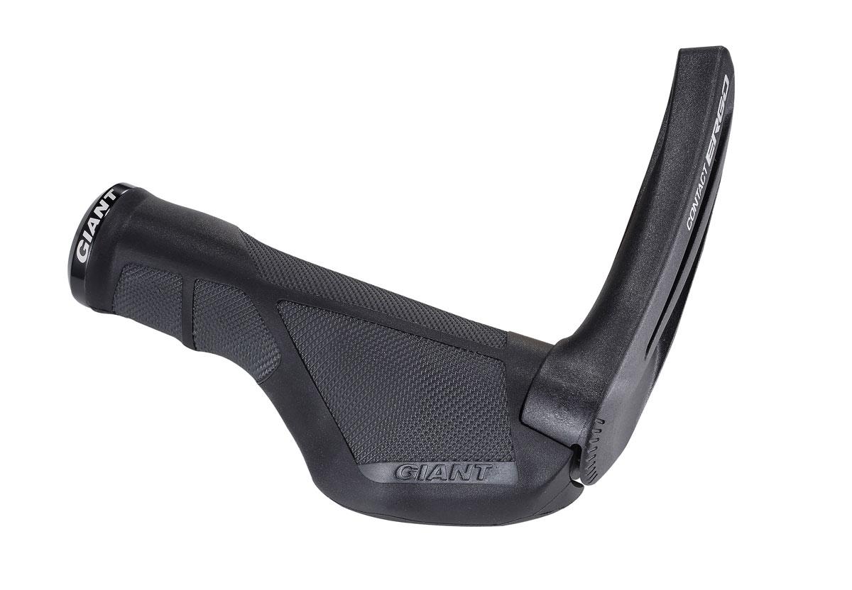 ORIGIN8  ERGO-SPORT BLACK//GREY BICYCLE HANDLEBAR BAR ENDS
