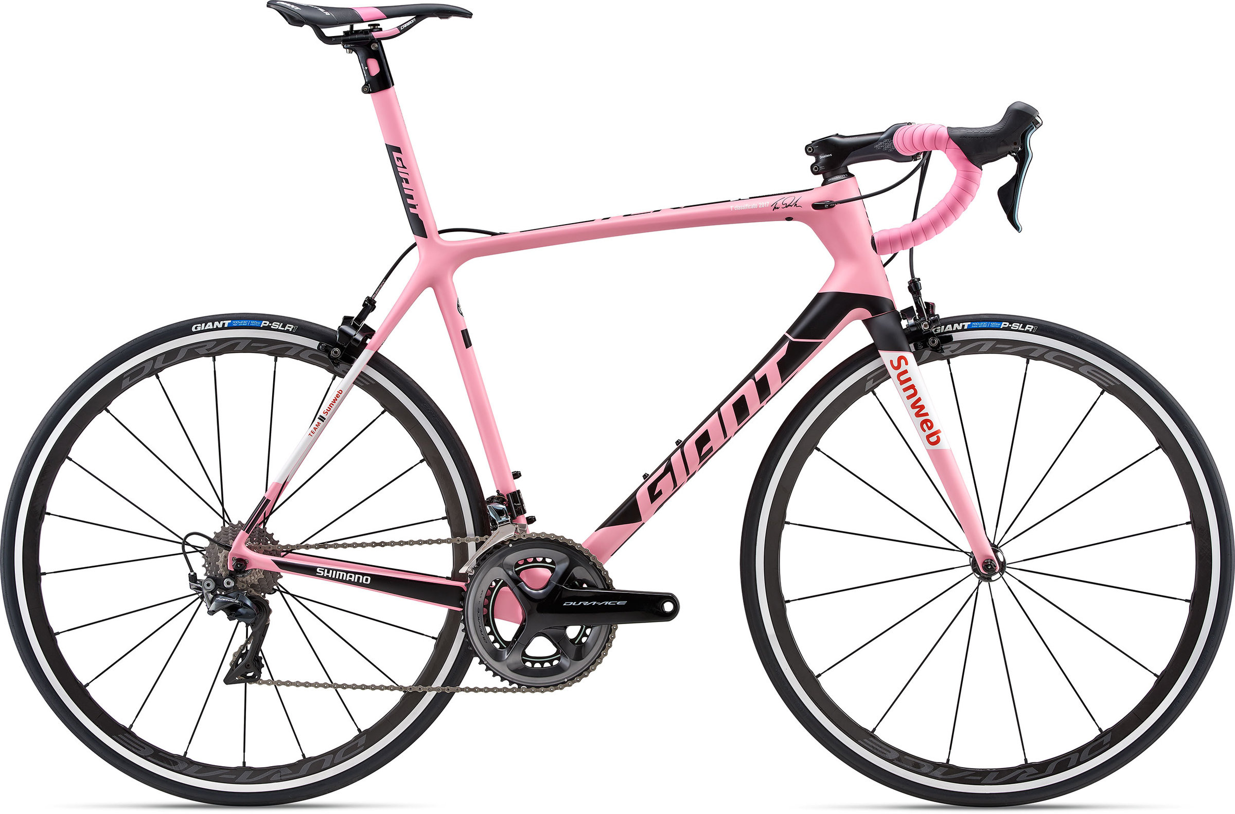 ad6caacf01b Giant TCR Advanced SL Maglia Rosa - Wheel World Bike Shops - Road ...