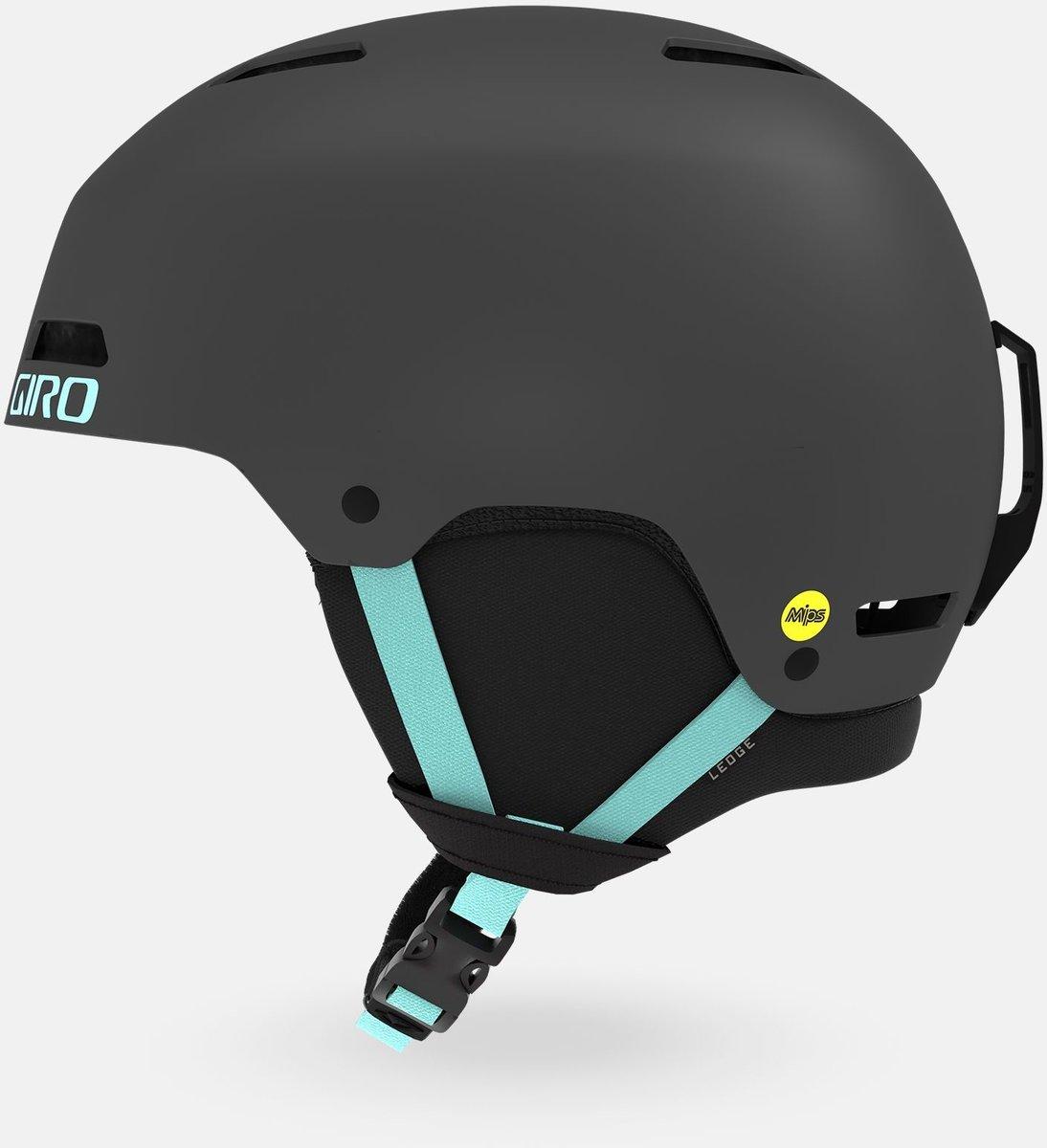 Ski Helmet Matt Graphite Giro Ledge FS Snowboard