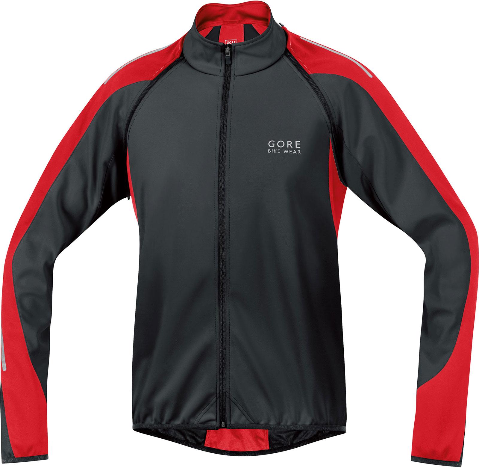 Gore Bike Wear Men's Phantom 2.0 Soft Shell Jacket Neon