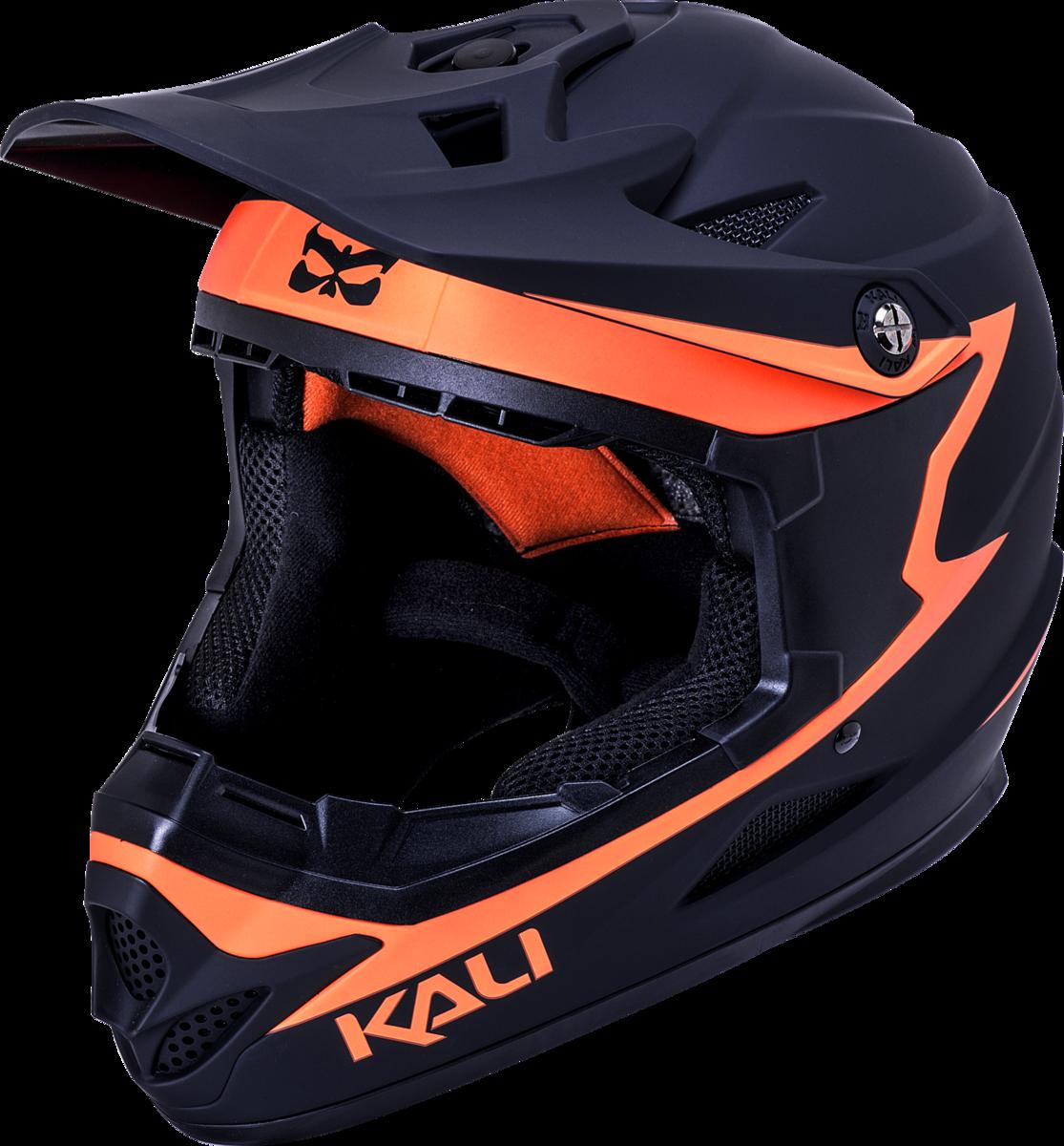 M Kali Protectives Zoka Full-Face Helmet Eon Matte Black//Grey