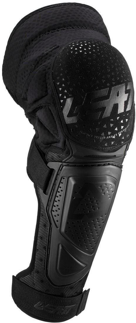 Black//White, Small//Medium Leatt 3DF Hybrid Knee Guard