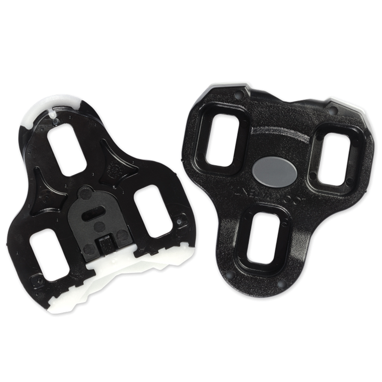 Look Keo Grip Road Cleats Black 0 Degree Fixed