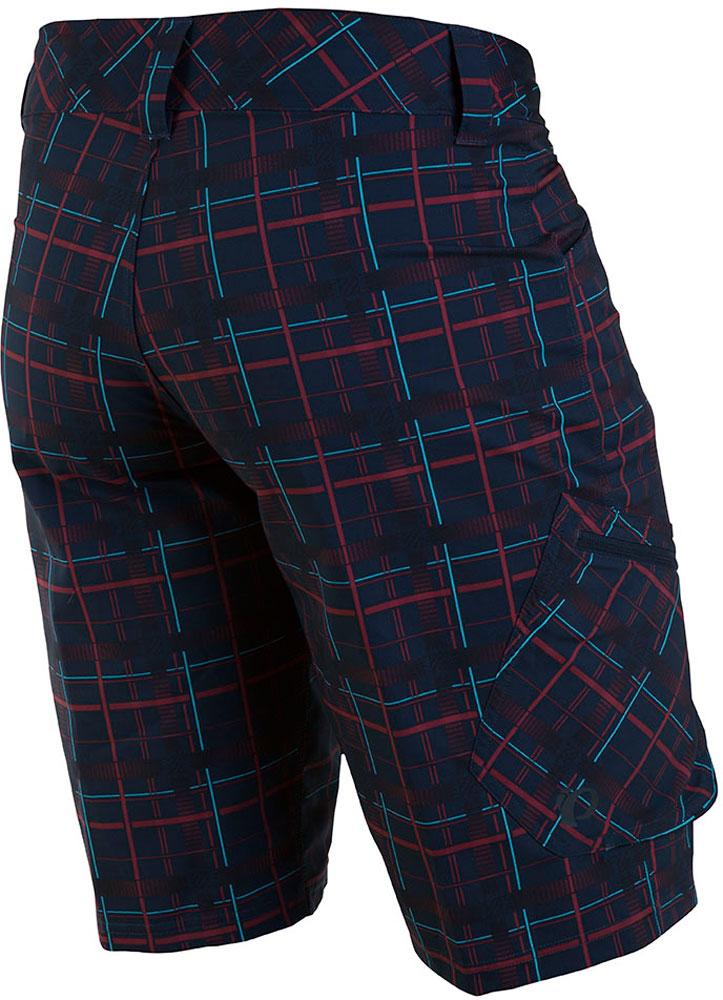 Pearl iZUMi Men/'s Canyon Plaid Shorts Medium New