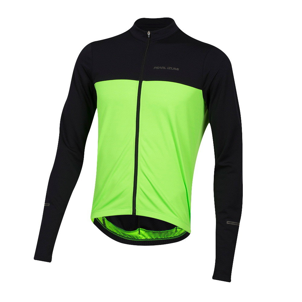 PEARL IZUMI  MENS/' RED QUEST LONG SLEEVE CYCLING CYCLE JERSEY  SMALL-EXTRA LGE