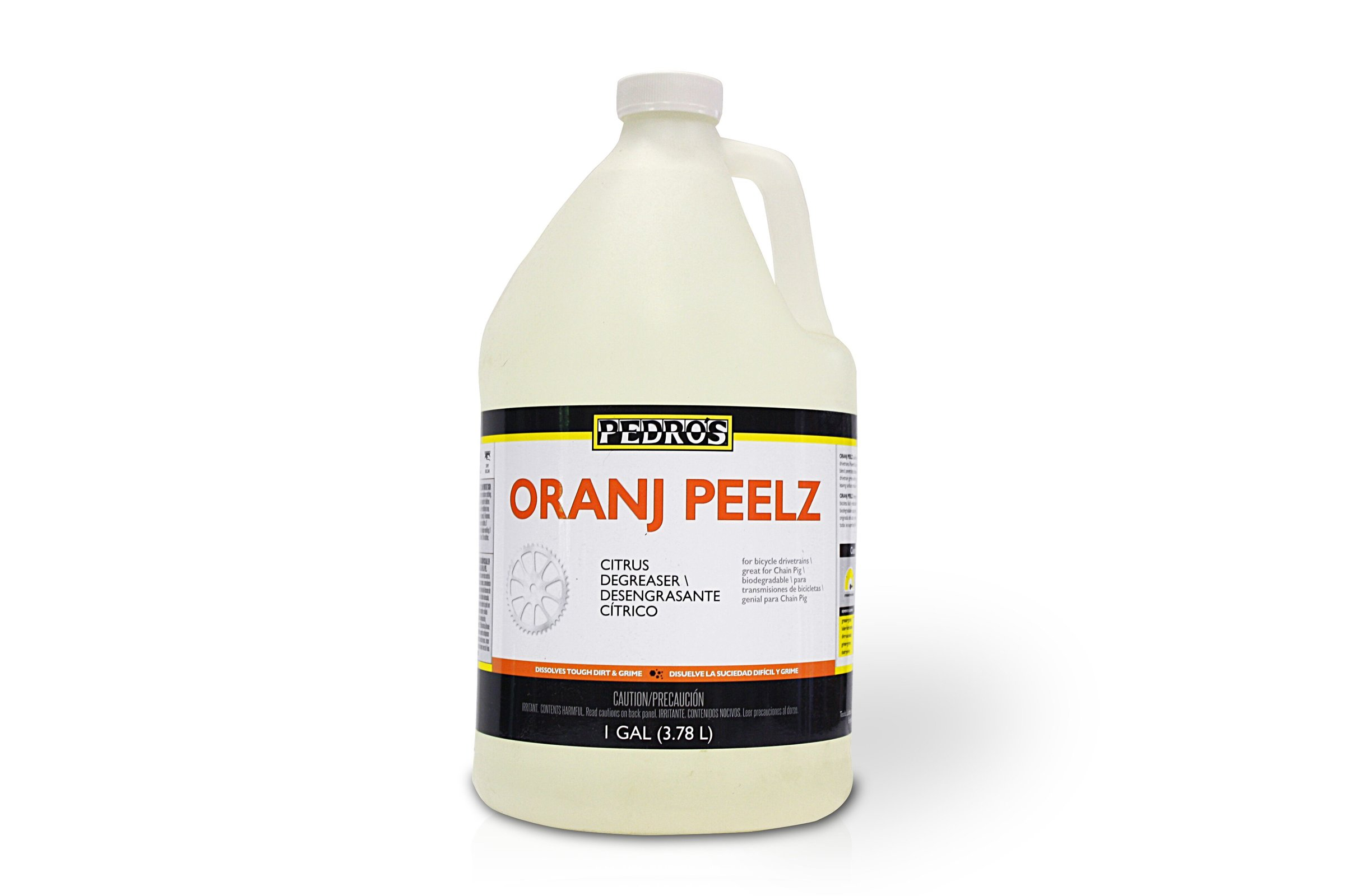 Pedro's Oranj Peelz Citrus Degreaser - Wheel & Sprocket | One of