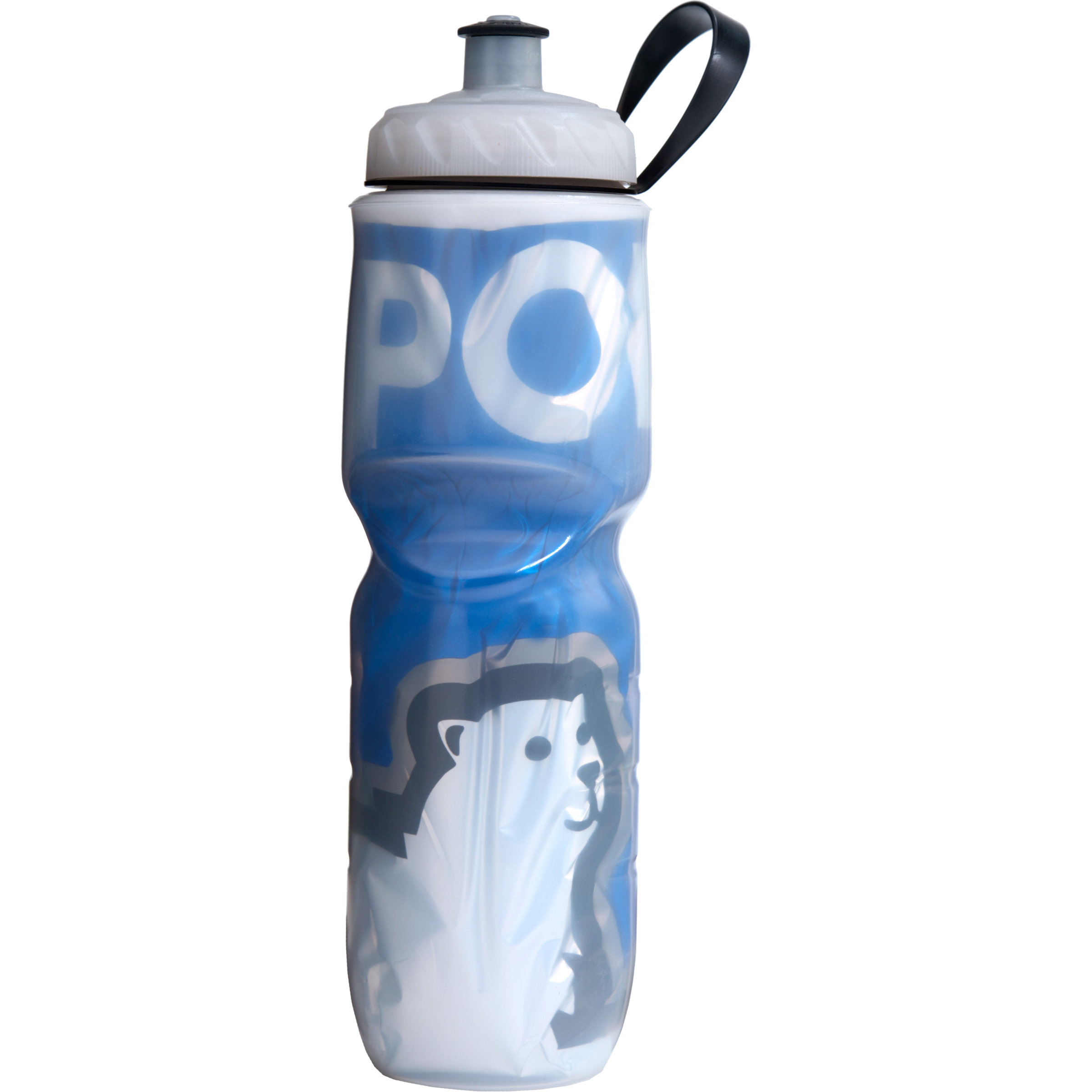 POLAR BOTTLE INSULATED 24oz FADE BLUE WATER BOTTLE