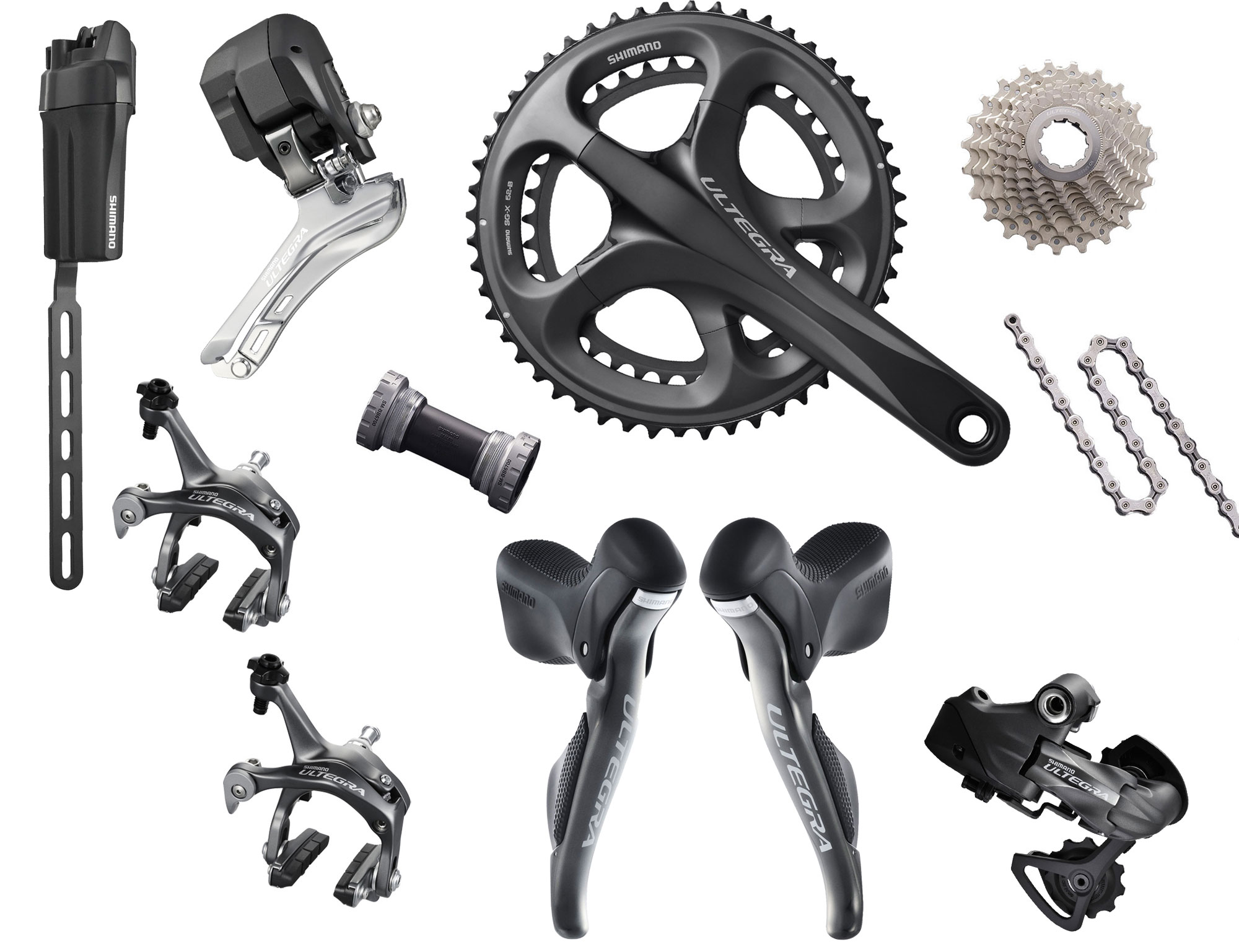82d7af1d889 Shimano Ultegra Di2 Electronic Components Kit - Oliver's Cycle ...