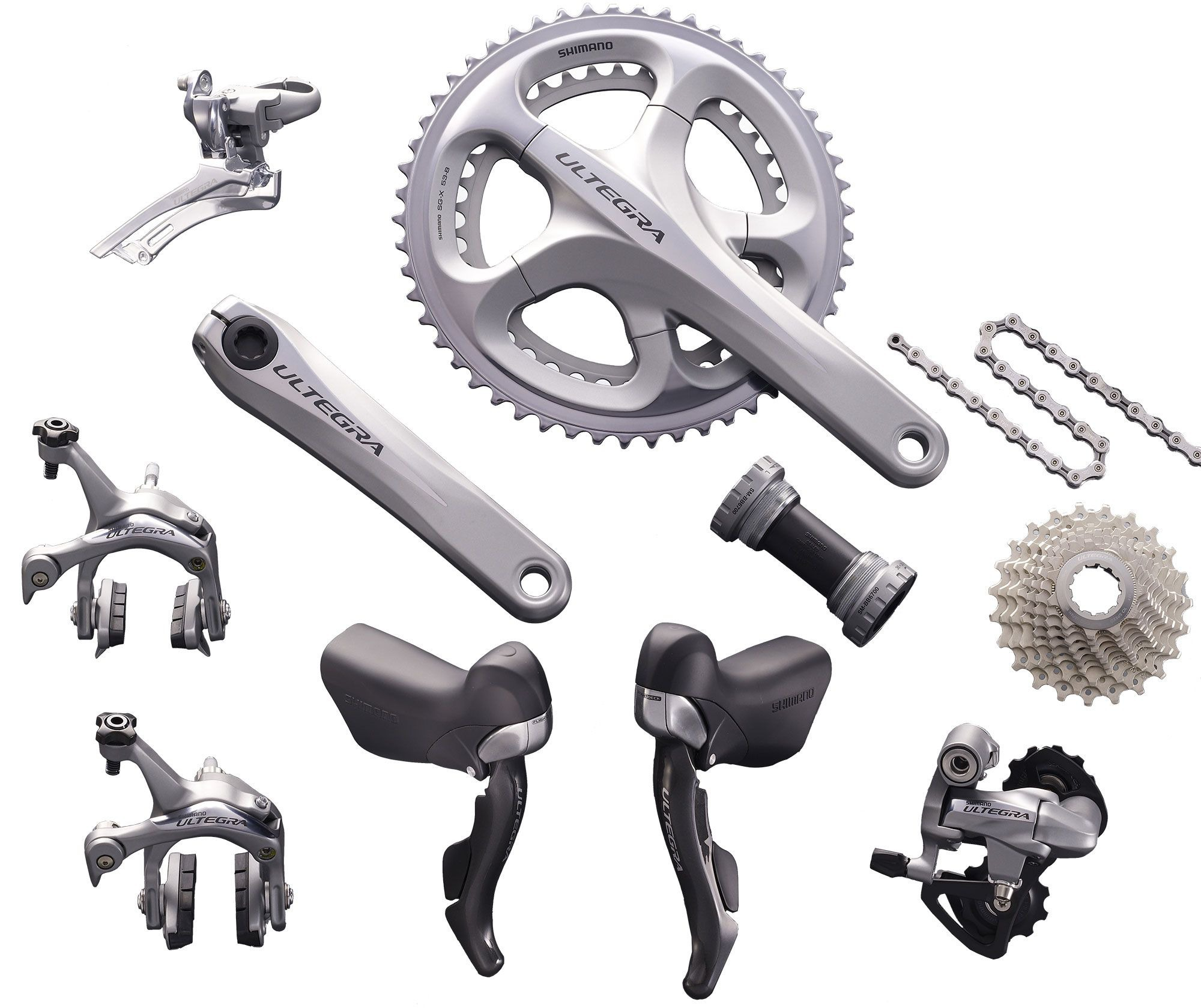 61a0c6d077d Shimano Ultegra 10-speed Components Kit - Oliver's Cycle Sports ...