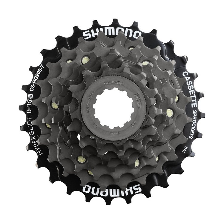 Shimano CS-HG200-7 Speed Mountain Bike Bicycle Cassette 12-28T or 12-32T New