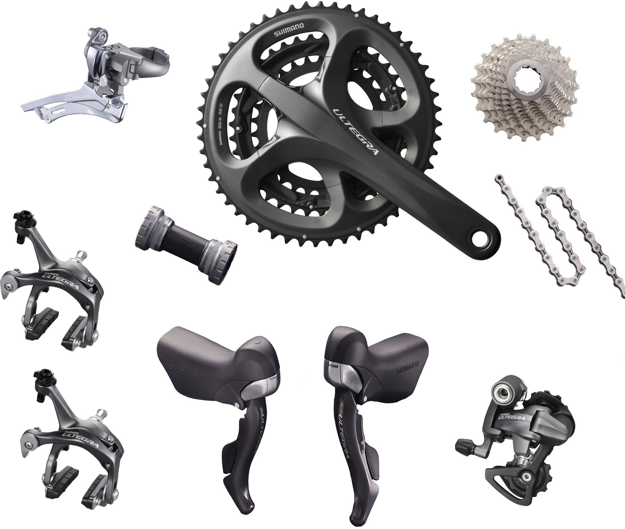 03b1692e7fc Shimano Ultegra 10-speed Triple Components Kit - Oliver's Cycle ...