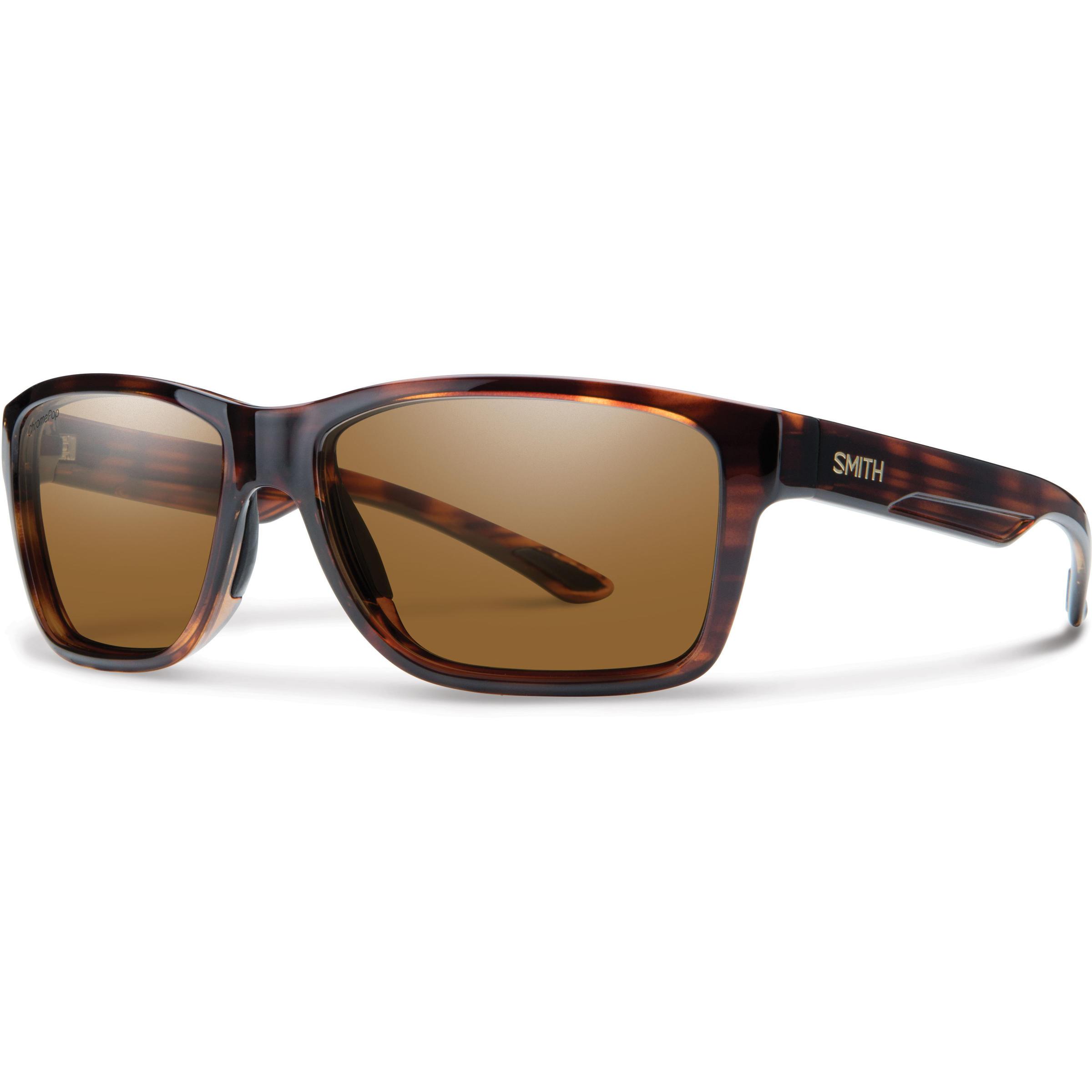 Tortoise Smith Wolcott ChromaPop Brown Lens Polarized Sunglasses