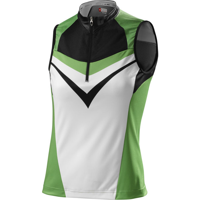 Specialized RBX Sport Jersey Sleeveless Color White//Black Size XLarge
