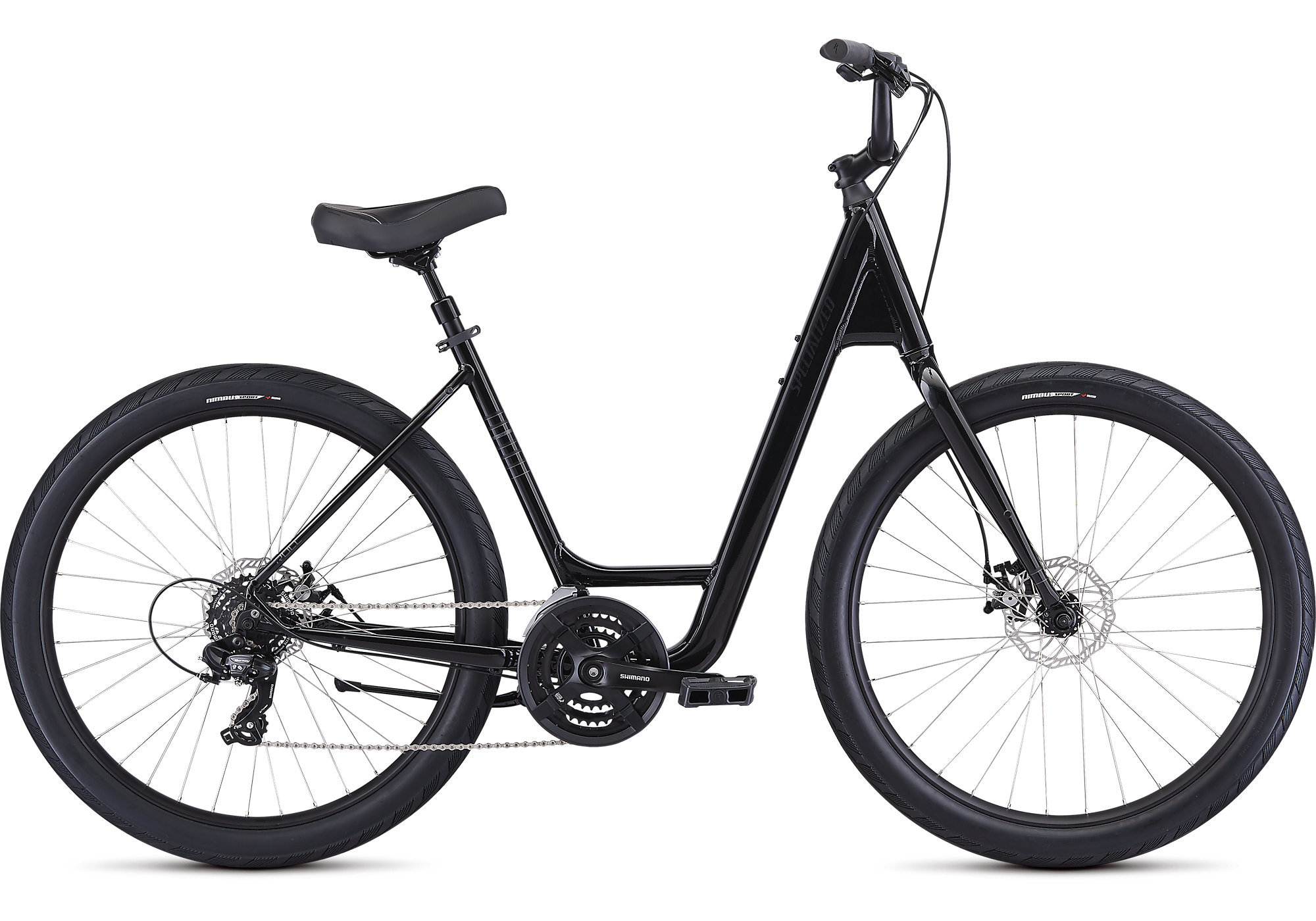 Specialized Roll Sport Low Entry Bike Stop Bicycle