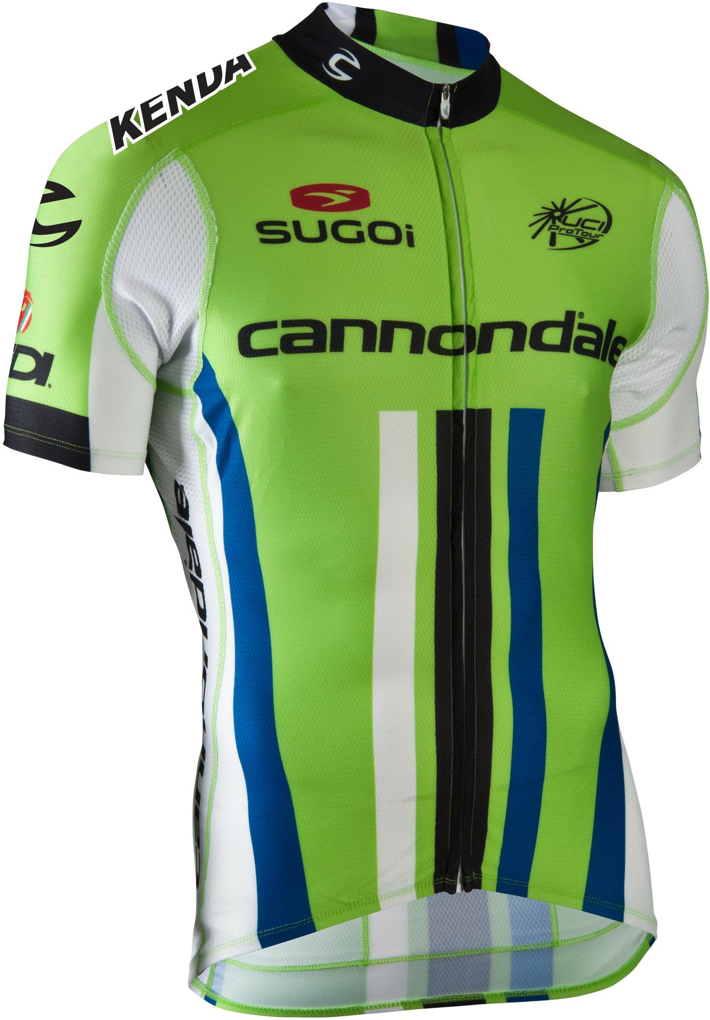 764df8f5722 Sugoi Cannondale Pro Cycling Team Jersey - Montclair Bike Shop ...