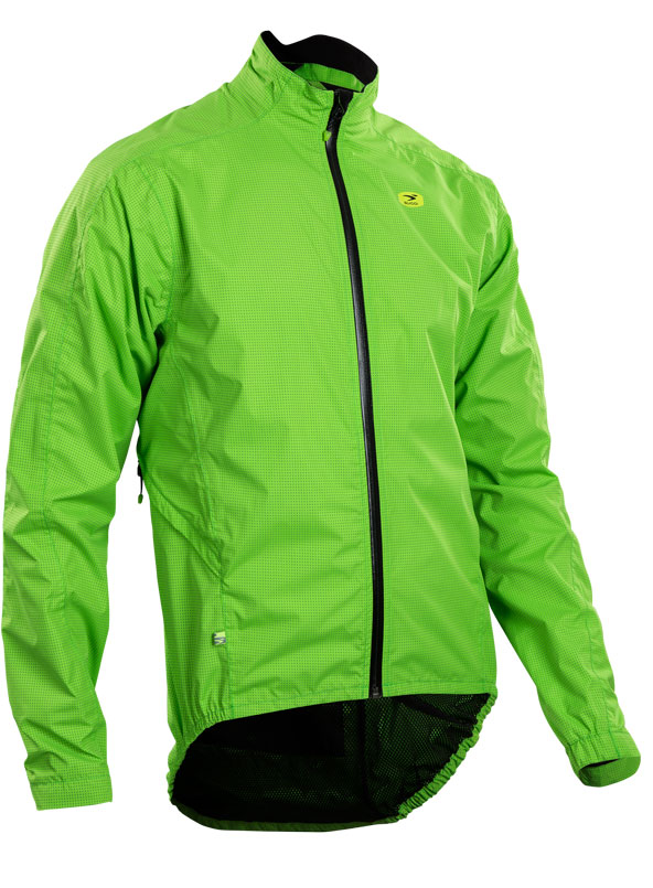 Sugoi Zap Bike Jacket Green Mountain Cyclery Central