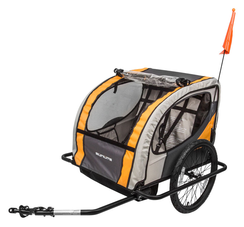 Sunlite Trailer Tot (Two Children) - Bike Shop | Full Cycle