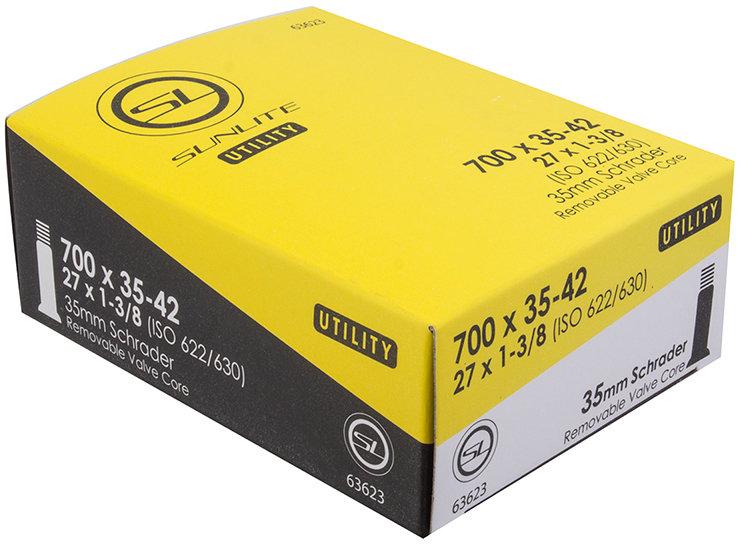 Sunlite Inner Tube 4-PACK 700x35-40c Schrader Valve 32mm Cross CX Hybrid Bike