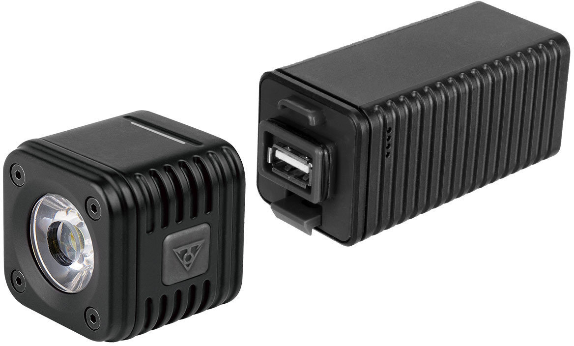 Topeak CubiCubi 850 USB Rechargeable Bike Headlight 850 lumen