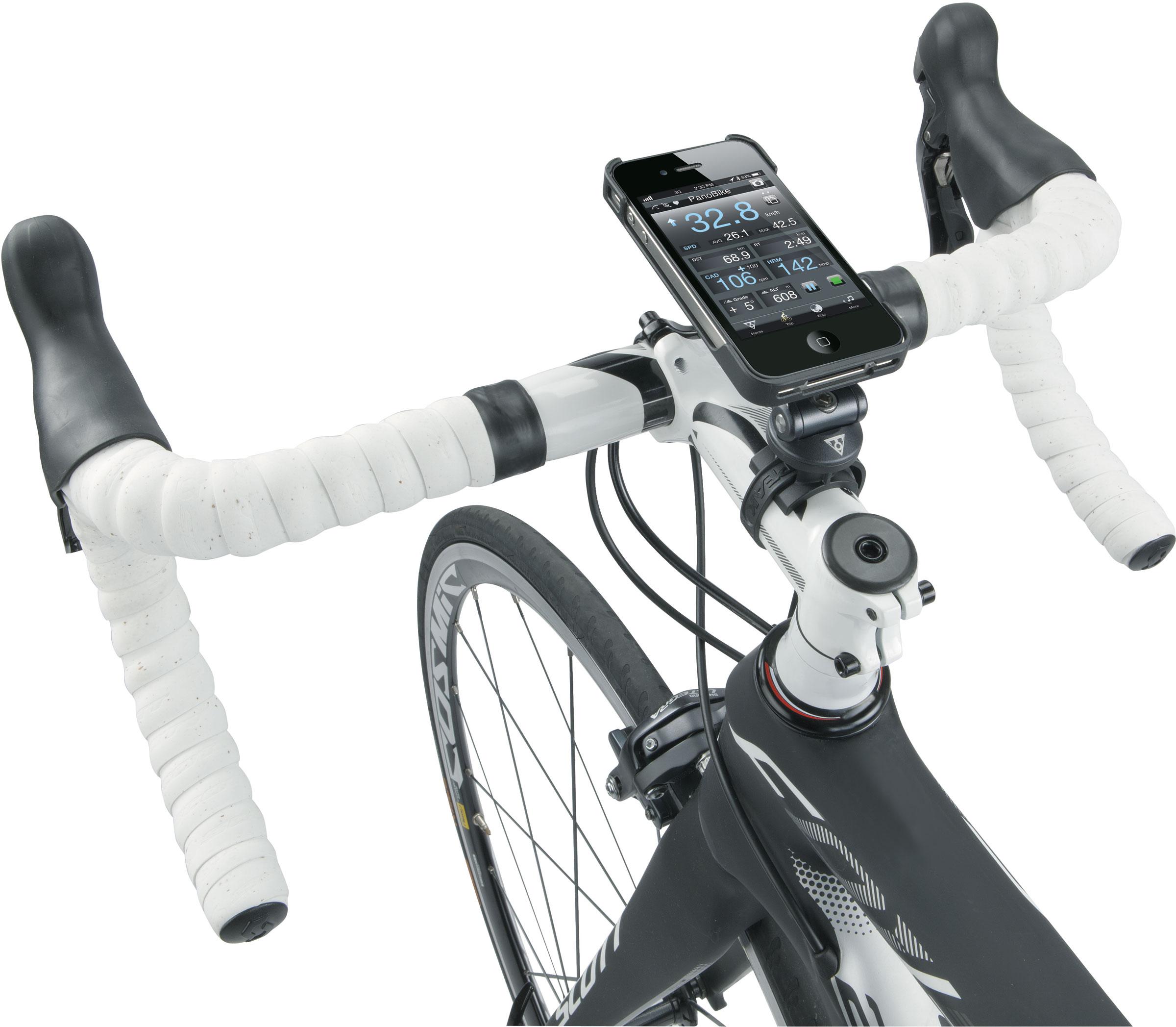 Topeak iPhone 4//4s Dry Bag Bicycle Handlebar Mount New Black