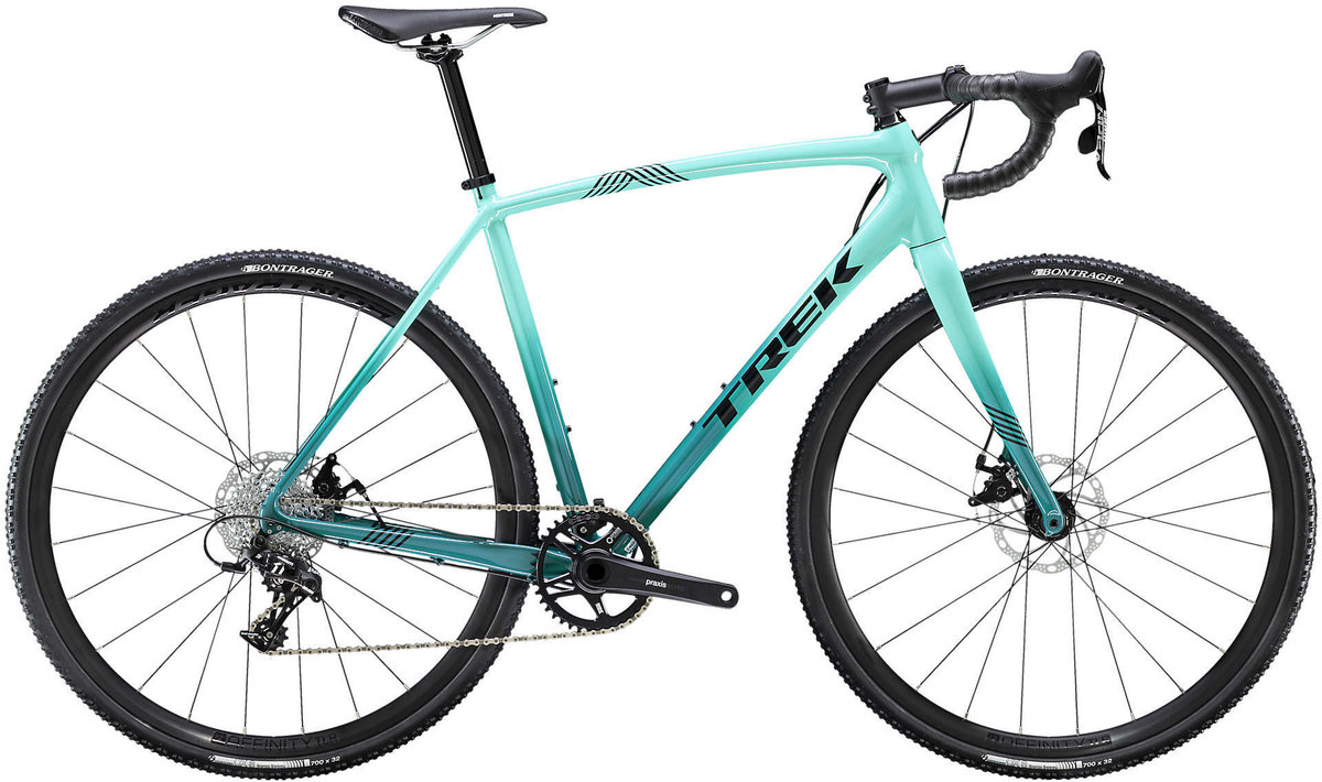 2020 Trek Crockett 4 gravel bike in blue