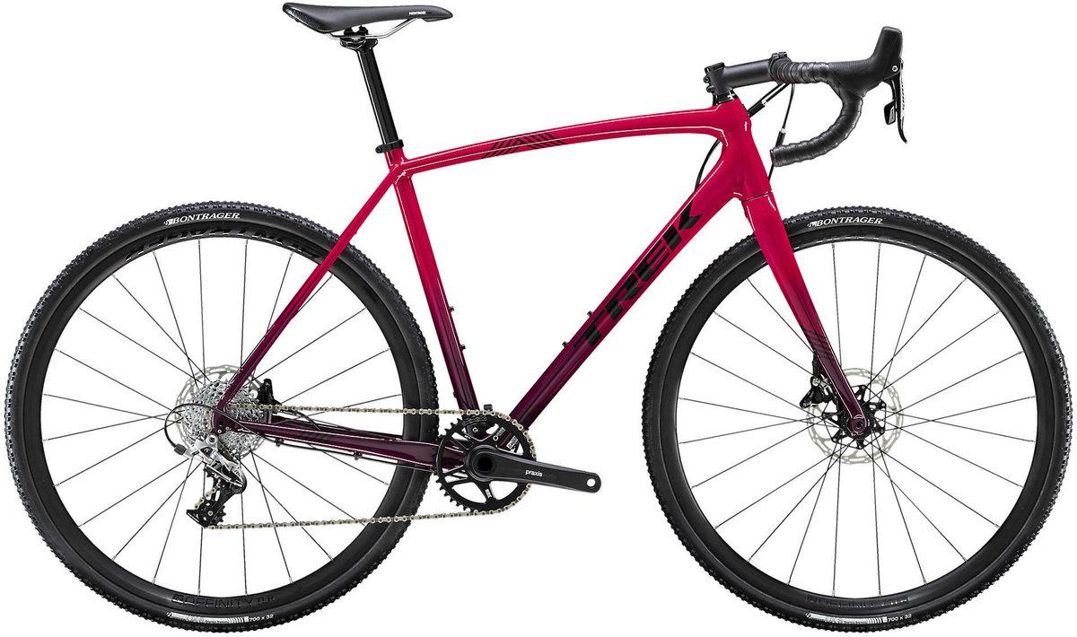 Trek Crockett 5 gravel bike in red