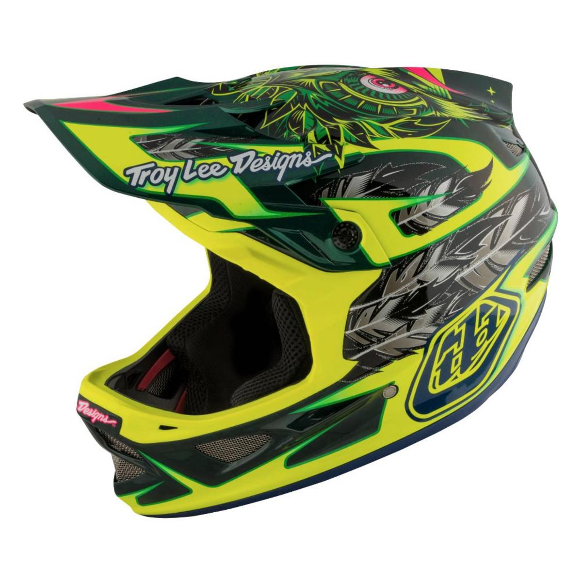 Troy Lee Designs Helmet >> Troy Lee Designs D3 Carbon Helmet Mips Nightfall Roy S Cyclery