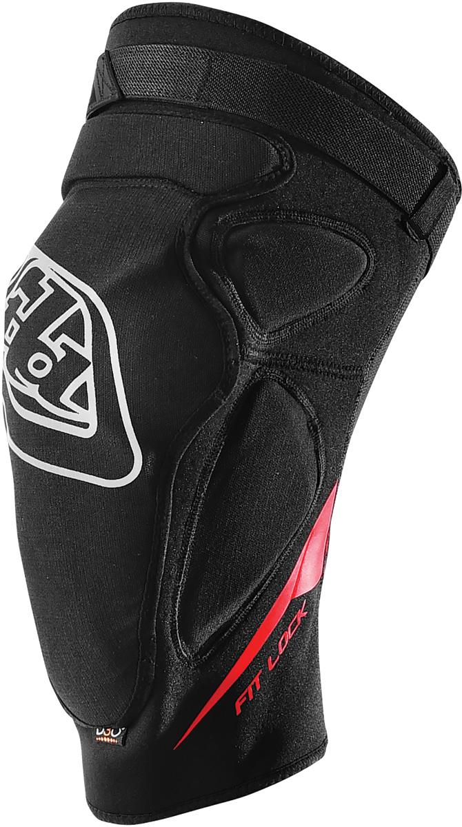 Troy Lee Designs Raid Knee Guards X-Large//2X-Large Black