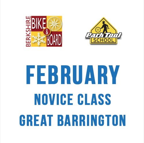 Park Tool Bicycle Repair Park Tool School 4 x 2 hour class NOVICE FEBRUARY 2019 - Great Barrington SUNDAY