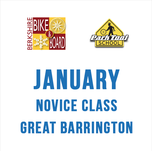Park Tool Bicycle Repair Park Tool School 4 x 2 hour class NOVICE JANUARY 2019 - Great Barrington
