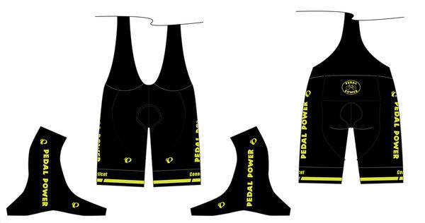 Pearl Izumi Pedal Power Custom Men's ELITE Pursuit Bib Shorts