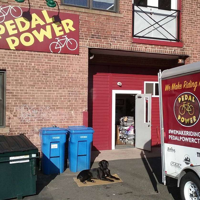 Pedal Power CT Middletown Rear Store Entrance