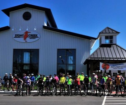 Stony Creek Bikes and Beer Ride