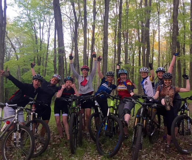 Ladies Mountain Bike Ride