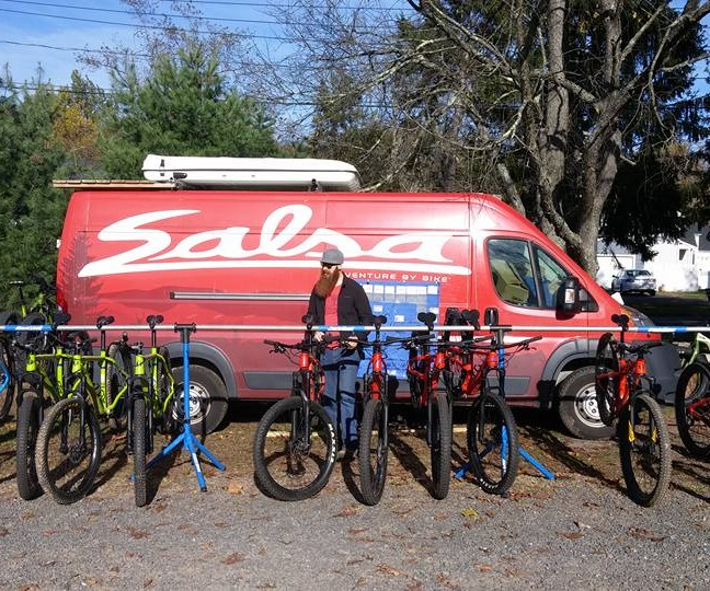 Salsa Cycles Demo Day