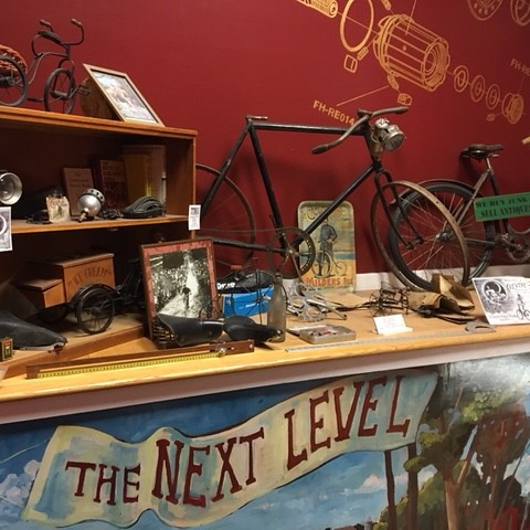 Pedal Power CT Middletown Next Level Antique Display