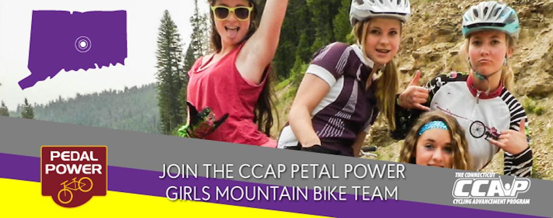 Join the CCAP Petal Power Girls Mountain Bike Team