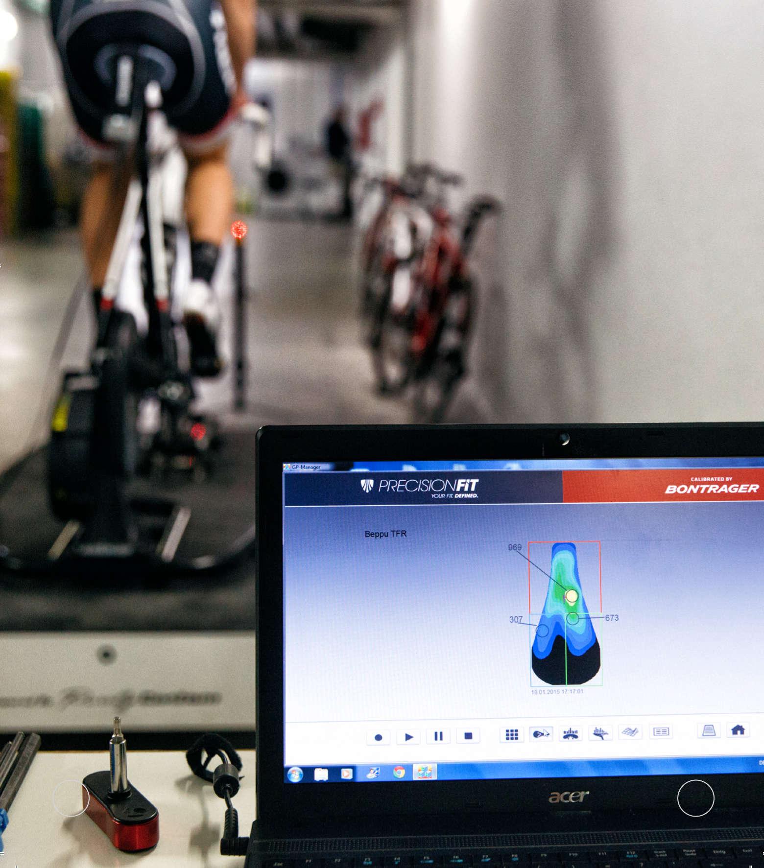 Trek Precision Bike Fitting Saddle Pressure Analysis Tool