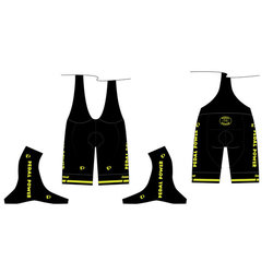 Pearl Izumi Pedal Power Custom Men's ELITE Pursuit Bib Shorts