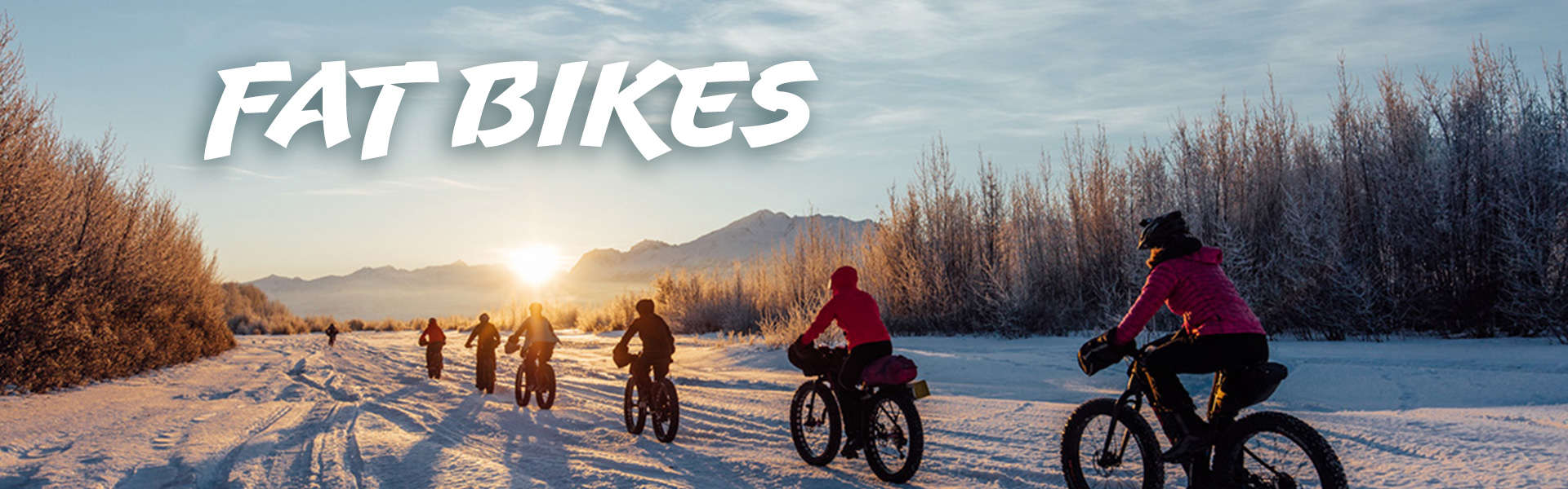 We ride fat Bikes