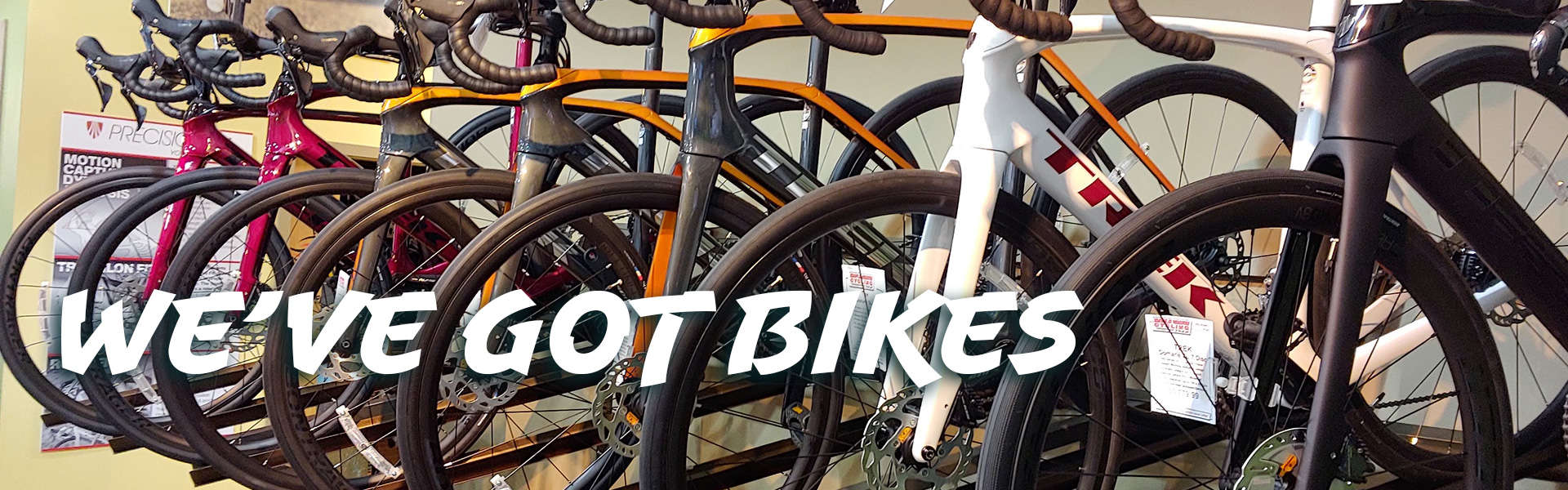 We've Got Road Bikes
