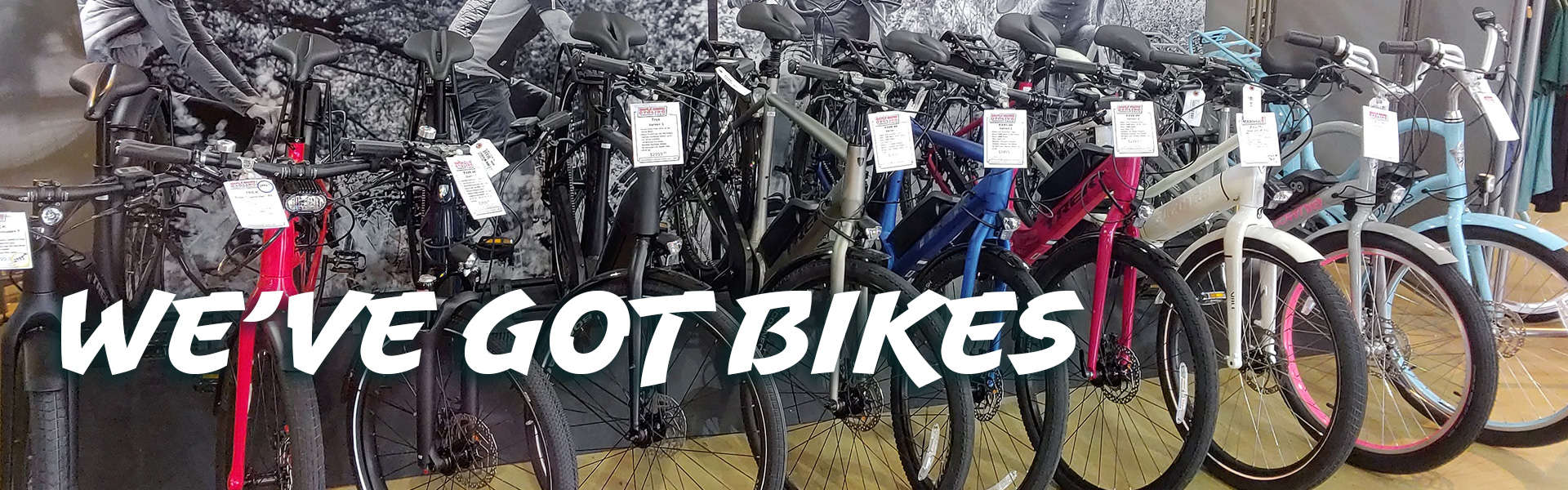 We've Got E-Bikes