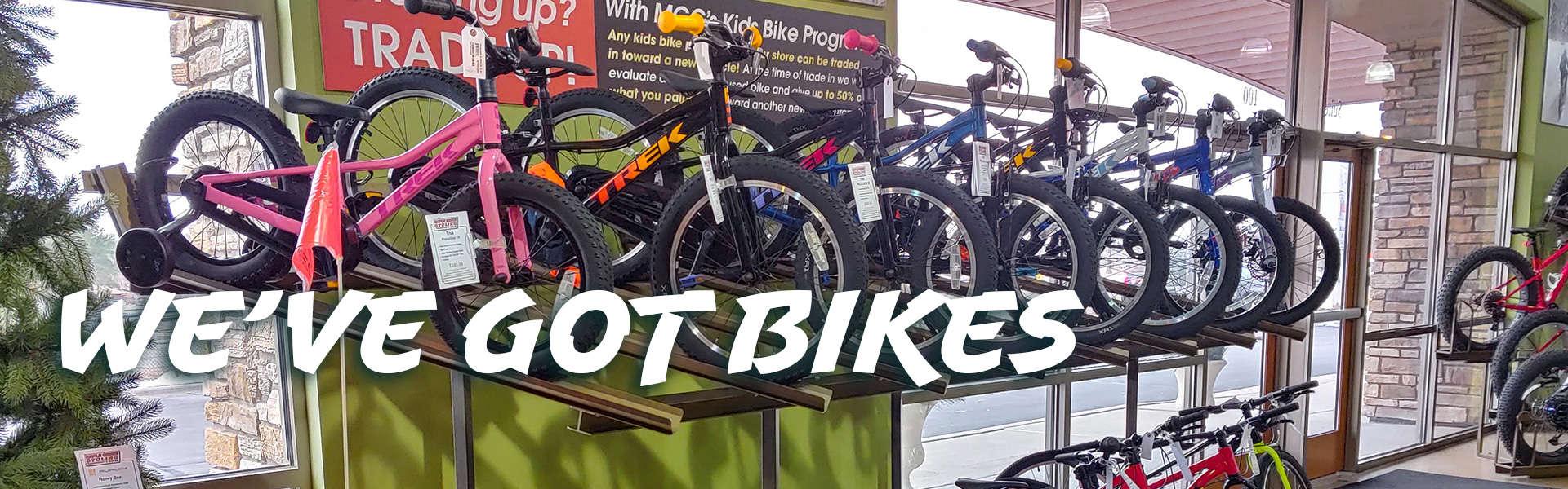 We've Got Kid's Bikes