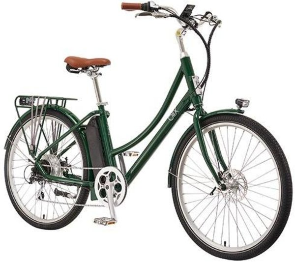 Blix Electric Bikes Aveny Step-Thru 2019 Color: Green