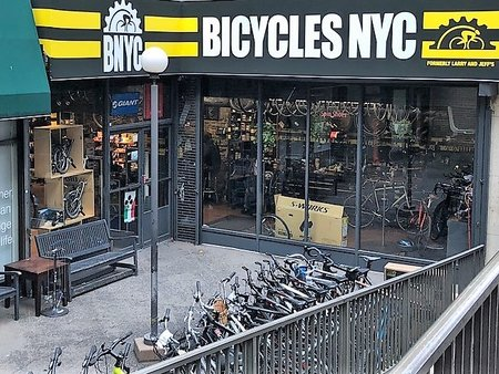 Bicycles NYC storefront
